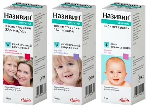 Капли для детей от заложенности носа, насморка ребенка. Инструкция, цена