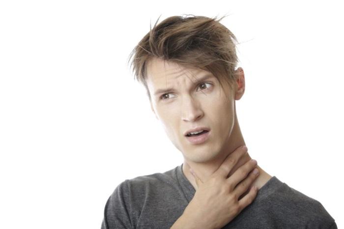 Ком в горле и отрыжка воздухом - причины и лечение