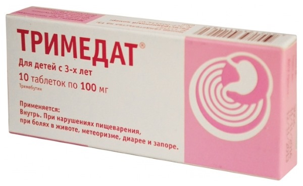 Тримедат: инструкция по применению для детей и взрослых. От чего и как принимать препарат, аналоги, отзывы