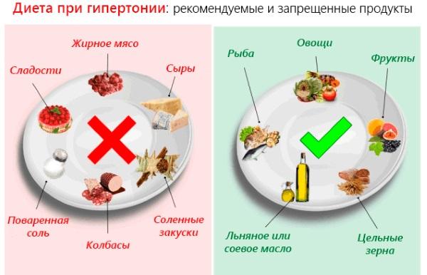 Продукты, понижающие давление у человека. Список для нормализации артериального давления при гипертонии, влияние правильного питания, какие продукты нельзя