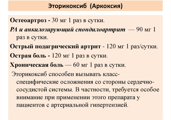 Аркоксия. Состав препарата, показания, инструкция по применению, противопоказания