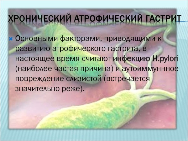 Атрофический гастрит. Симптомы и лечение у женщин народными средствами, диета, препараты