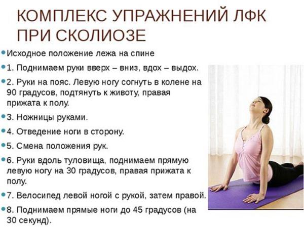 Сколиоз позвоночника у взрослых. Лечение: гимнастика, народные средства, массаж, корсеты, операция