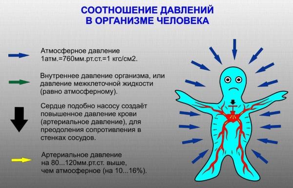 Атмосферное давление. Норма для человека, как влияет на организм, как привести в норму