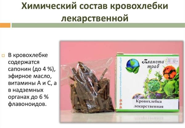 Трава кровохлебка лечебные свойства в гинекологии