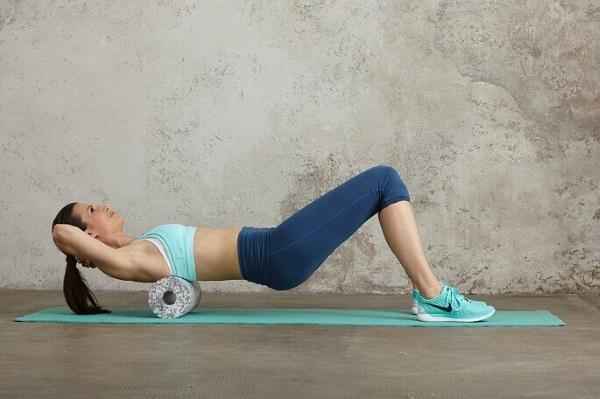 Упражнения с валиком из полотенца для позвоночника, спины, осанки, похудения, поясницы
