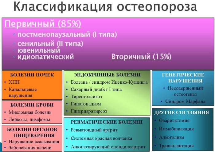 Остеопороз у женщин. Причины возникновения, симптомы и лечение