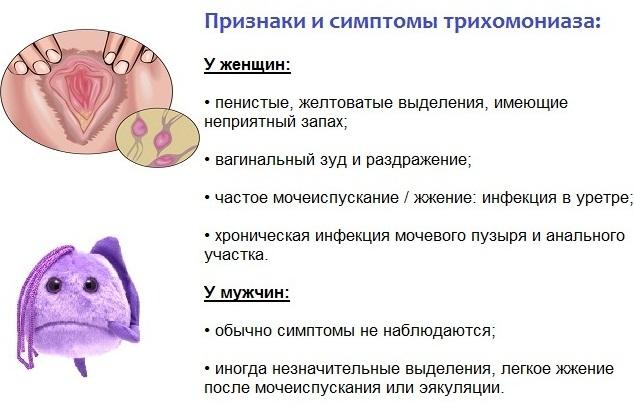 Трихомониаз у женщин. Симптомы и лечение, препараты, народные средства