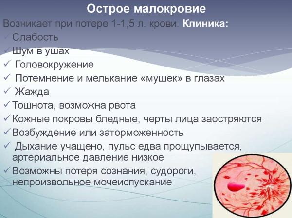 Признаки внутреннего кровотечения: симптомы, ощущения, первая помощь, последствия