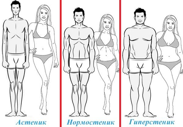 Астеническое телосложение у женщин, мужчин, ребенка. Что это такое, признаки, типы, как набрать вес