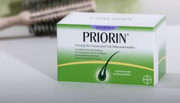 Приорин (Priorin) витамины для волос. Инструкция, цена, аналоги