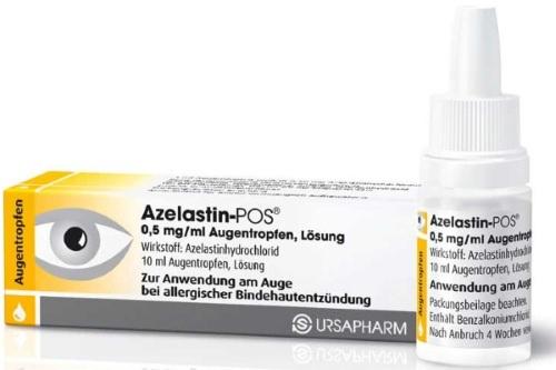 Азеластин (Azelastinum) глазные капли. Цена, инструкция по применению, аналоги