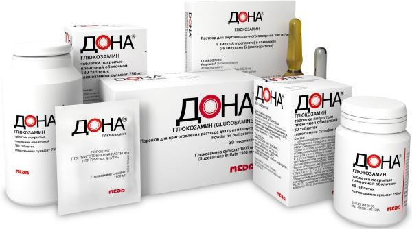 Дона (Dona) препарат для суставов в уколах, ампулах, порошке. Инструкция, аналоги, цена, отзывы
