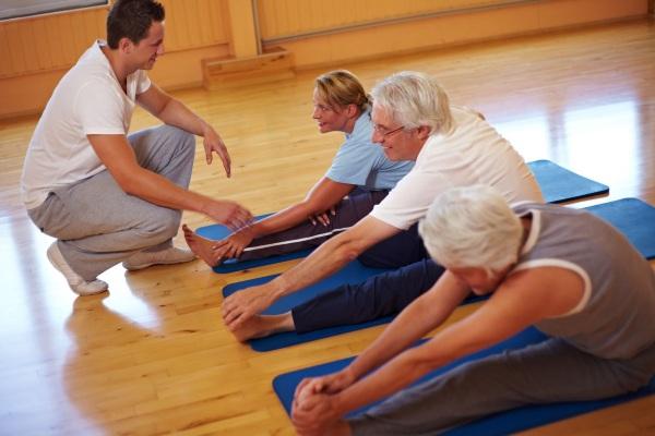 Гимнастика для пожилых в спокойном темпе