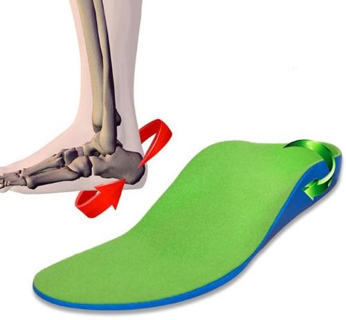 Ортопедическая стелька при плоскостопии, вальгусной деформации для детей. Виды