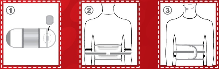 Бандаж для пупочной грыжи большого размера thumbnail