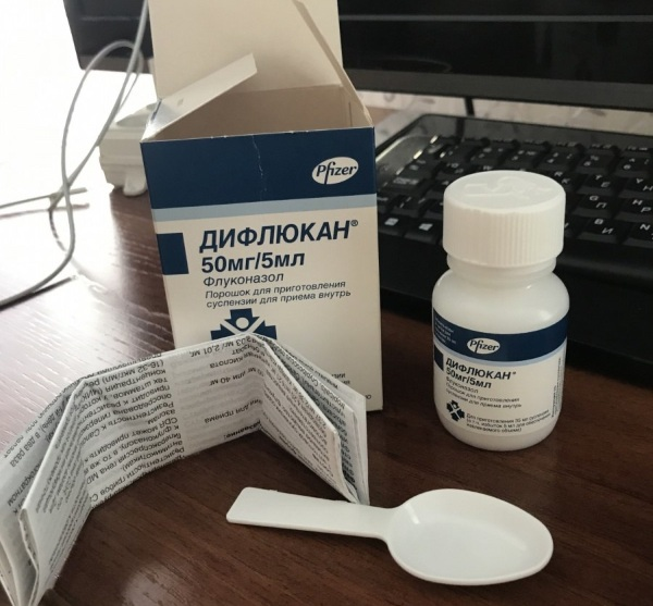Дифлюкан (Diflucan) суспензия для детей, мужчин, женщин. Инструкция по применению, аналоги, цена
