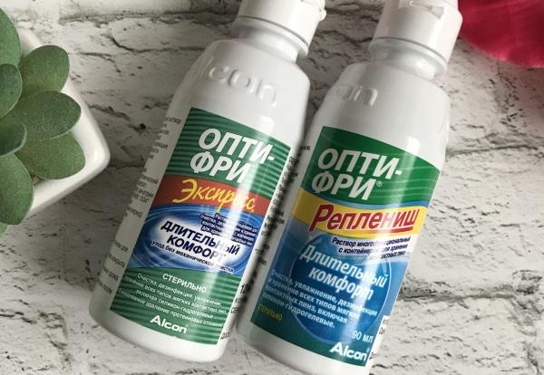 Опти-Фри (Opti Free) раствор для линз. Инструкция, состав, виды, цена, отзывы