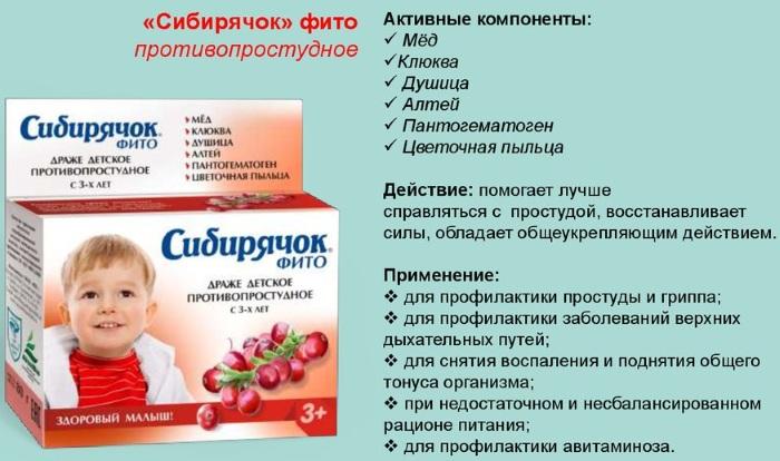 Сибирячок витамины для детей. Инструкция, отзывы, цена. Успокоительные, для повышения аппетита, глаз, иммунитета