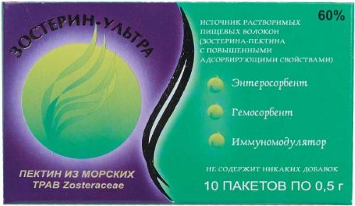 Зостерин-Ультра 30. Отзывы, инструкция по применению, аналоги, цена