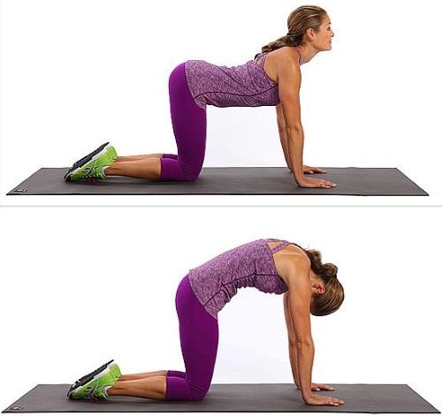 Упражнения от боли в спине, пояснице, шее. Видео в домашних условиях