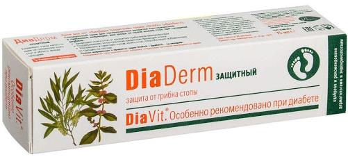 ДиаДерм (DiaDerm) с мочевиной для диабетиков. Инструкция по применению, аналоги, цена