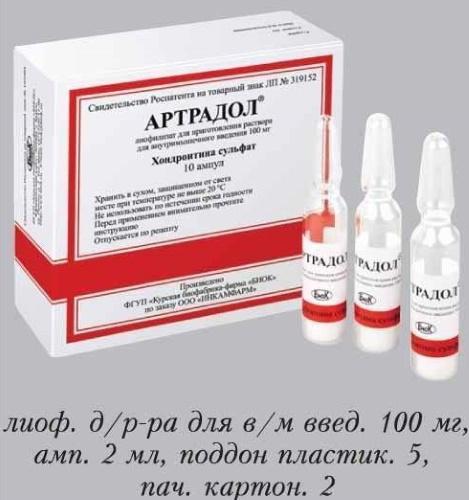Артрадол для лечения суставов (таблетки, ампулы для уколов). Отзывы, цена