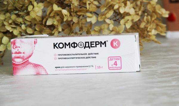 Комфодерм (Komfoderm) мазь для детей, взрослым. Инструкция по применению, цена, отзывы