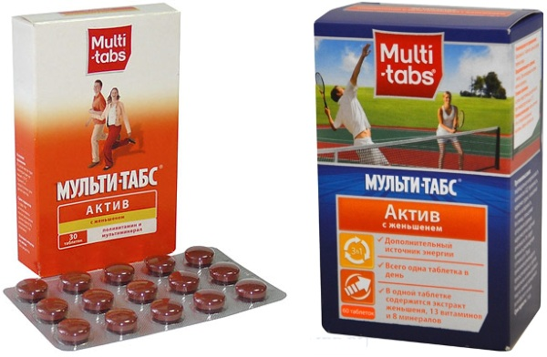 Мульти-табс Актив (Multi-tabs Active). Инструкция по применению, цена, отзывы