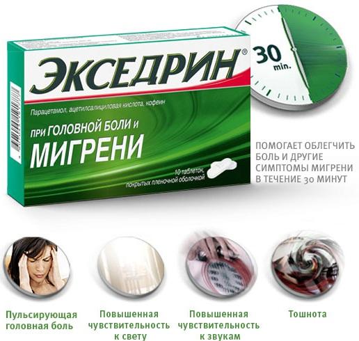 Сильные таблетки от головной боли. Список лучших без рецептов