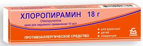 Антигистаминные мази при кожной аллергии у взрослых, детей
