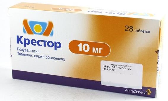 Крестор (Crestor). Отзывы пациентов, принимавших препарат, инструкция по применению