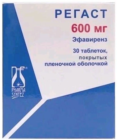 Регаст (Regast) 600 мг. Инструкция по применению, цена, отзывы