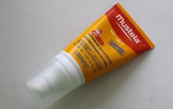 Мустела (Mustela) крем для детей от солнца. Инструкция по применению
