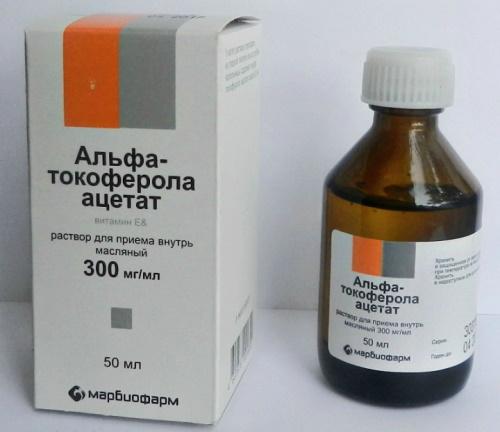Витамин Е в ампулах для инъекций. Название, инструкция по применению